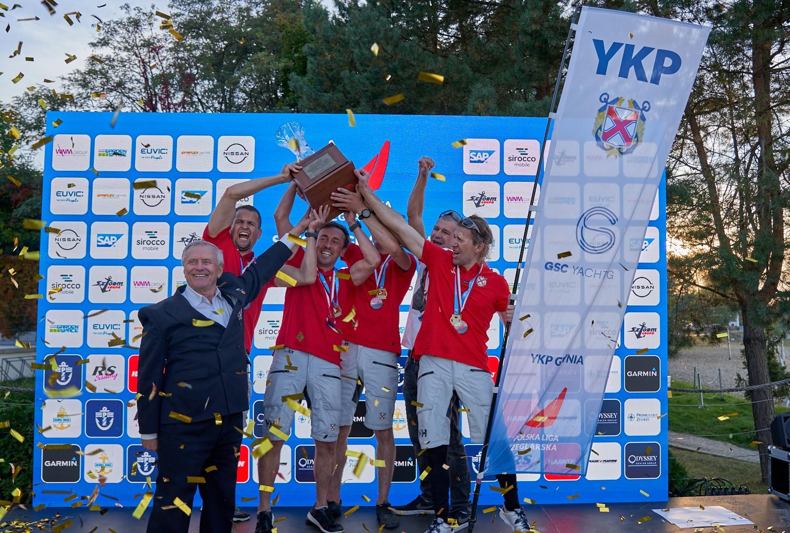Yacht Klub Polski Gdynia ponownie najlepszy!
